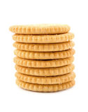 Stack of sweet sugar cookies Stock Photography