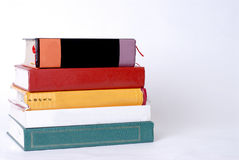 Stack of Textbooks Stock Image