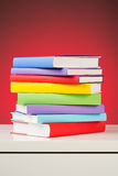 Stack of Textbooks Royalty Free Stock Image