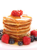 A stack of thin pancakes Stock Images