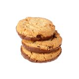 Stack of three cookies Stock Photos