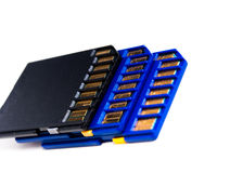 SD Memory Cards Royalty Free Stock Photography