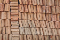 Stack tile for roof. Royalty Free Stock Photography