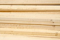 Stack of timber wood texture Royalty Free Stock Photo