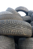 Stack of tires Stock Image
