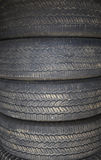 Stack of tires Stock Photography