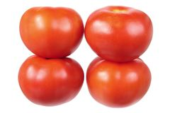 Stack of Tomatoes Stock Photography