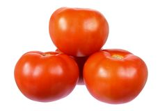 Stack of Tomatoes Stock Image