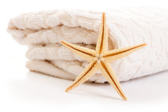 Stack Of Towel Royalty Free Stock Photo