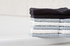 Stack of Towel Stock Photo