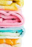 Stack of towels Royalty Free Stock Images