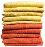Stack of Towels Royalty Free Stock Image