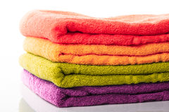 Stack towels  Royalty Free Stock Photo