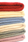 Stack of Towels royalty free stock photos