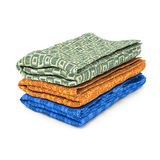 Stack of towels Stock Image
