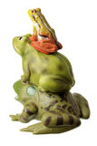 Stack of Toy Frogs Stock Photography