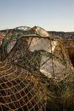 Traps for cod in Bonavista, NL, Canada Royalty Free Stock Photography