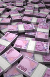 Stack of Turkish Lira Royalty Free Stock Image