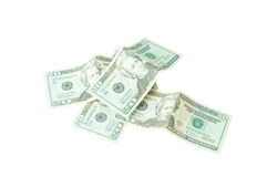 Stack of twenty dollars Stock Images
