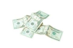 Stack of twenty dollars Stock Images