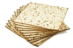 Stack of unleavened bread Stock Photos