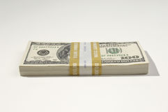 Stack of US Currency Royalty Free Stock Photo