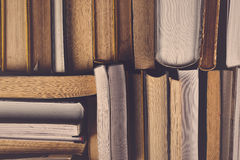 Stack Of Used Old Books Stock Image