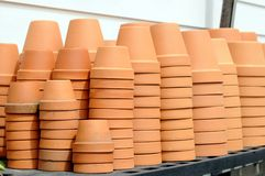 Stack of vase Royalty Free Stock Images