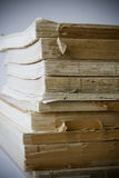 Stack of very old books Stock Images