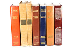 Stack of vintage books Stock Photos
