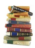 Stack of vintage books Royalty Free Stock Photo