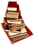 Stack of vintage books Royalty Free Stock Image