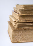 A stack of vintage books Royalty Free Stock Image