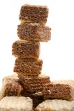 Stack of wafer Stock Photography