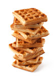 Stack Of Waffles royalty free stock photos
