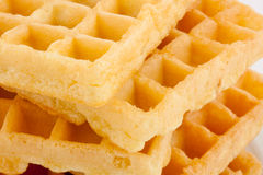 Stack of waffles Stock Image