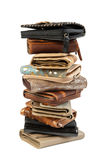 Stack of wallets #2 | Isolated Stock Image