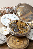 Stack of watches royalty free stock photography