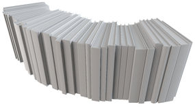 A stack of white paper Royalty Free Stock Image