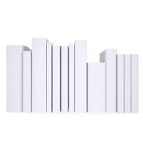 A stack of white papers Royalty Free Stock Photo