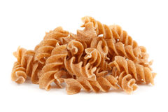 Stack of wholemeal pasta Stock Photography