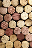 Stack of Wine Corks Stock Photography