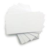 stack wizytówki Zdjęcia Royalty Free
