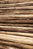 Stack of wood background Stock Photography