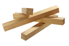 Stack of Wood Blocks Royalty Free Stock Photography