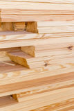 Stack of wood boards  for construction or Stock Image