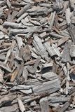 Stack on wood chippings Stock Image