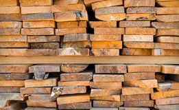 Stack wood Royalty Free Stock Photo
