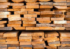 Stack wood Royalty Free Stock Image