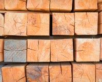 Stack wood Stock Photo